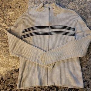 Polo Jeans full zip sweater size XXL.